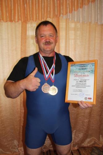 Юрий Шабардин (Киров), Чемпион России 2017г.